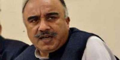 پشاور،پاکستان تحریک انصاف کے رہنماء شاہ فرمان کا پی کے 71سے مستعفی ہونے ..
