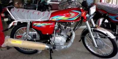 ہنڈا موٹر سائیکلز کی پیداوار اور فروخت میں اکتوبر کے دوران 17.62 فیصد ..