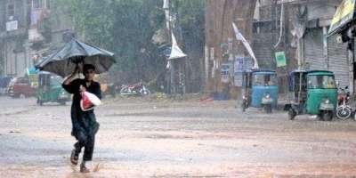 کراچی میں آئندہ 3 روز کے دوران بارش کی پیش گوئی