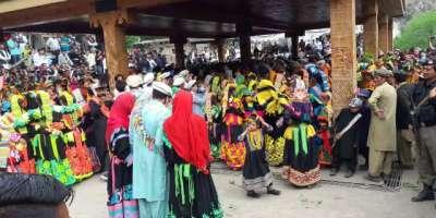 چترال کے خوبصورت ترین وادی کیلاش میں کیلاش قبیلے کا سالانہ مذہبی تہوار ..
