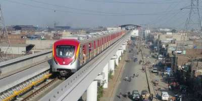 میٹرو ٹرین کا آپریشن شروع ہونے سے پہلے منصوبے سے متعلقہ دیگر تمام ..