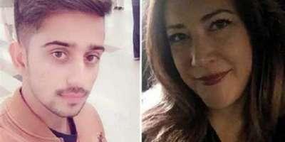 امریکی خاتون پاکستانی لڑکے کی محبت میں گرفتار ہو کر سیالکوٹ پہنچ گئی
