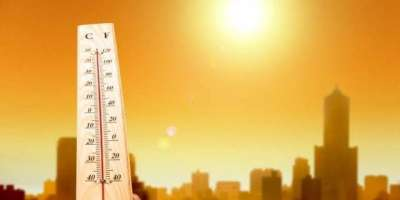 کراچی میں سمندری ہوائیں رکنے سے گرمی کی شدت میں اضافہ