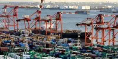 جاپان کی امریکا اور چین کے ساتھ فاضل تجارتی حجم میں مزید کمی