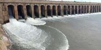 دریائوں اور آبی ذخیروں میں پانی کے بہائوکی صورتحال