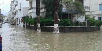 تیونس میں شدید بارشیں، 5افراد ہلاک