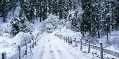 وادی کاغان میں سردی کی شدت میں اضافہ،