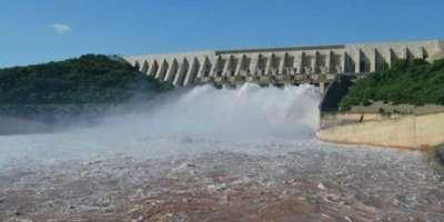 آبی ذخائر میں پانی کی آمد و اخراج کی صورتحال،
