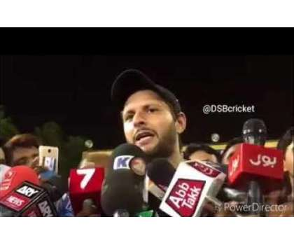 شاہد آفریدی بھی ہوائی فائرنگ کے خلاف خیبر پختونخواہ پولیس کی مہم کا ..