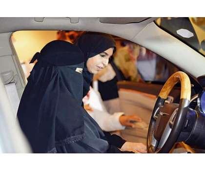 61 فیصد سعودی خواتین نے جون میں گاڑی چلانے کے لیے تیاریاں مکمل کر لیں