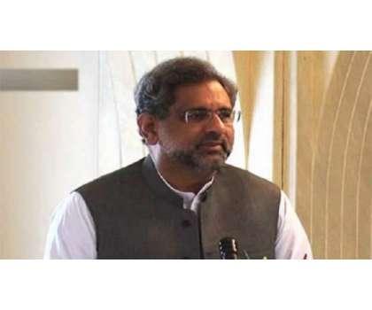 وزیر اعظم شاہد خاقان عباسی نے لیگی رکن سمبلی شیخ وسیم کی طرف سے عدلیہ ..
