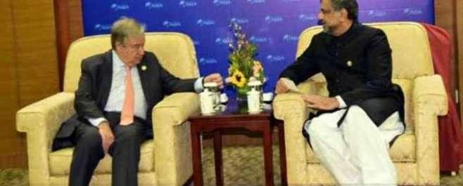 پاکستان مسئلہ کشمیر کا پرامن اور منصفانہ حل چاہتا ہے'اقوام متحدہ قتل ..