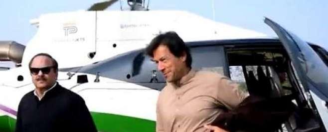 چیرمین نیب کا عمران خان کےسرکاری ہیلی کاپٹراستعمال کرنے پرانکوائری ..