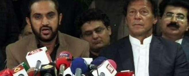 عمران خان کی چیئرمین سینیٹ کیلئے وزیراعلیٰ بلوچستان کو ایڈوانس مبارک