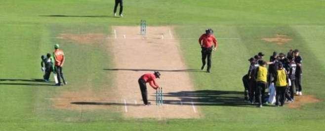 پاکستان اور نیوزی لینڈ کے درمیان کھیلے جانے والے آخری ون ڈے میچ میں ..