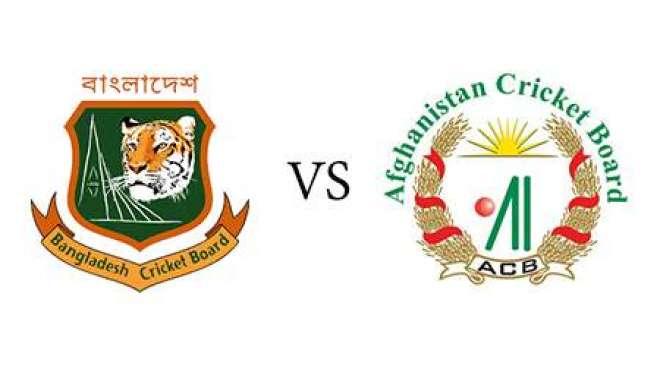 بنگلہ دیش اور افغانستان کے درمیان تیسرا اور آخری ٹی ٹونٹی کرکٹ میچ ..
