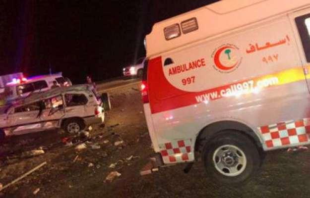 عید کے روز مدینہ منورہ میں 3 پاکستانی خوفناک ٹریفک حادثے میں جان کی ..