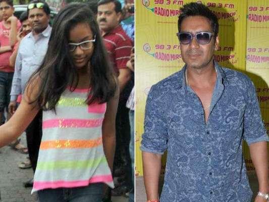 اجے دیوگن کی بیٹی نیساکے فلمی دنیا کے آغاز بارے خبروں کی تردید