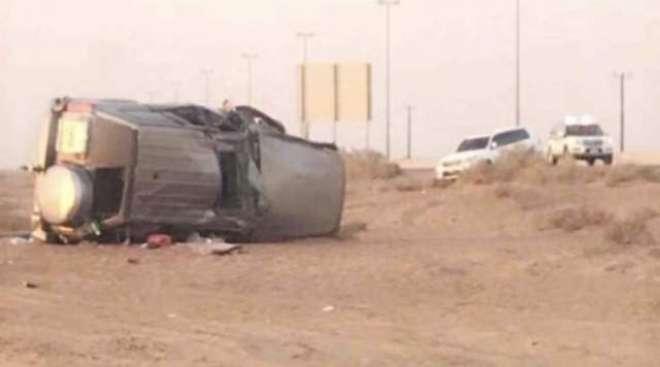متحدہ عرب امارات ٹریفک حادثے میں ایک شخص جاں بحق ، ایک زخمی