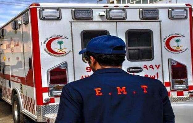 سعودی عرب میں ٹریفک حادثہ، عمرہ پر آئے چار افراد جاں بحق