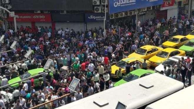 کرنسی میں مسلسل کمی ،ایران میں چھ سال بعد سب سے بڑا حکومت مخالف احتجاج
