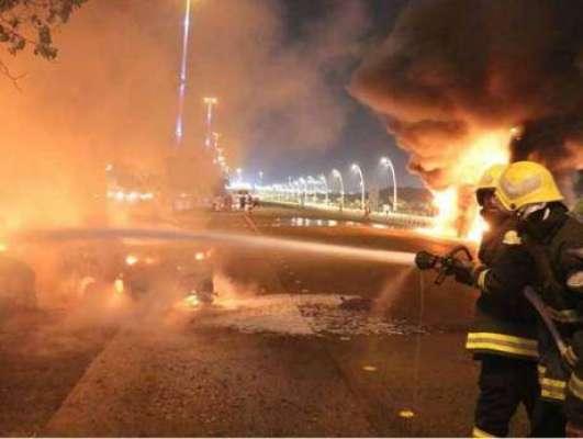 سعودی عرب اور متحدہ عرب امارات کی سرحد پر ہنگامی صورتحال