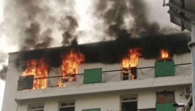 پنجاب کو آ پریٹو بینک اور سوسائٹی کے ریکارڈ روم میں آگ لگائے جانے کا ..
