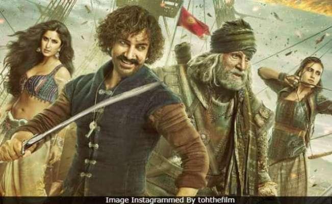 بھارتی تجزیہ کاروں اور شائقین نے ٹھگ آف ہندوستان کو اوسط درجے کی فلم ..