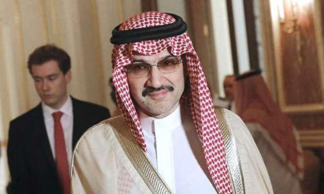 سعودی شہزادہ ولید بن طلال دنیا کی100 مالدار ترین لوگوں کی فہرست میں شامل