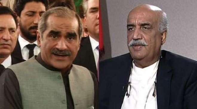 نوازشریف کے بیان پر قومی اسمبلی میں شاہ محمود قریشی اور سعد رفیق میں ..