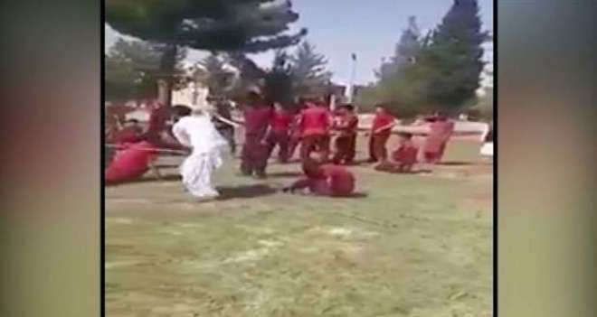 مستونگ کیڈٹ کالج میں اساتذہ کے طالبعلموں پر بدترین تشدد کی ویڈیو وائرل