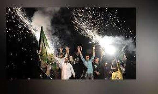 پوری قوم زینب کے سوگ میں نڈھال،مسلم لیگ ن گوجرانوالہ میں جشن مناتی ..