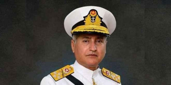 پاک بحریہ کے سربراہ ایڈمرل ظفر محمود عباسی کا پاک بحریہ کی کمانڈ اینڈ ..