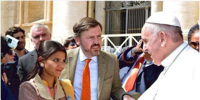 آسیہ بی بی کی پوپ فرانسس سے ملاقات کی تصاویر وائرل، حکومت کے خلاف پراپیگنڈے ..