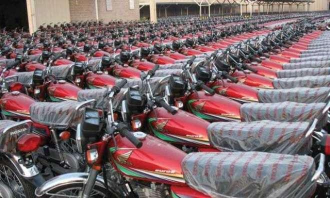 ینوں میں ملک میں موٹرسائکلوں اوررکشوں کی پیداواراورفروخت میں گزشتہ ..