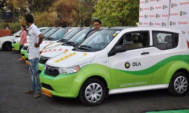 اولا 'آئندہ ایک سال کے دوران 10,000 الیکٹرک گاڑیاں اپنی سروس کے لئے بھارت ..