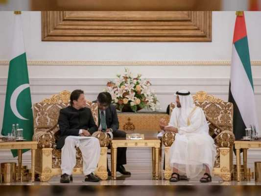 محمد بن زاید اور وزیر اعظم عمران خان کا دو طرفہ تعلقات، عالمی معاملات ..