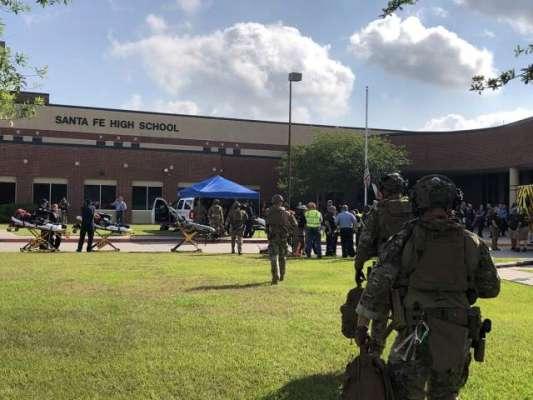 امریکی ریاست ٹیکساس کے ہائی اسکول پر حملے کی اطلاعات