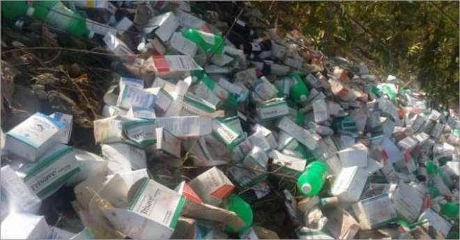 خیبرپختونخواہ میں محکمہ صحت نے لاکھوں روپے کی ادویات ضائع کر دیں