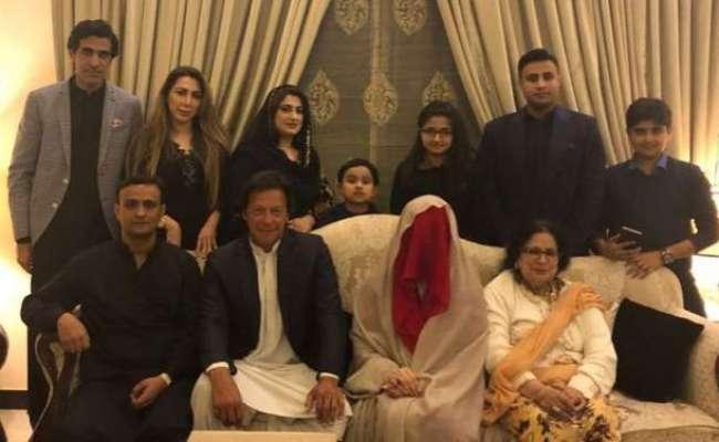 چیئرمین پی ٹی آئی عمران خان نےبشریٰ بی بی سے تیسری شادی کر لی