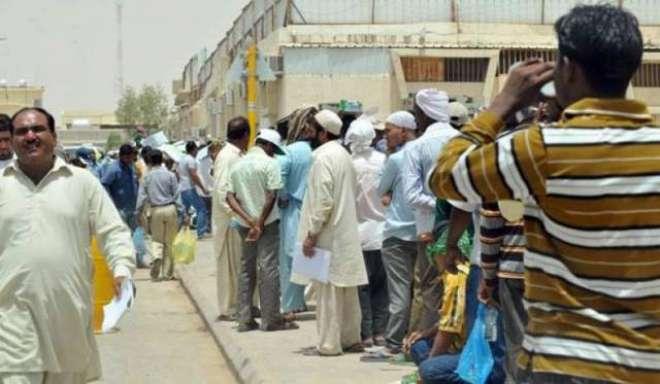 سعودی عرب نے ایک مرتبہ پھر بڑی تعداد میں پاکستانیوں کو نکال دیا