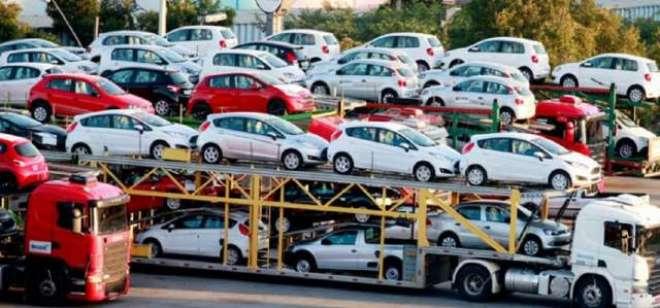 گاڑیوں کی فروخت میں تین ماہ کے دوران 4 فیصد کمی