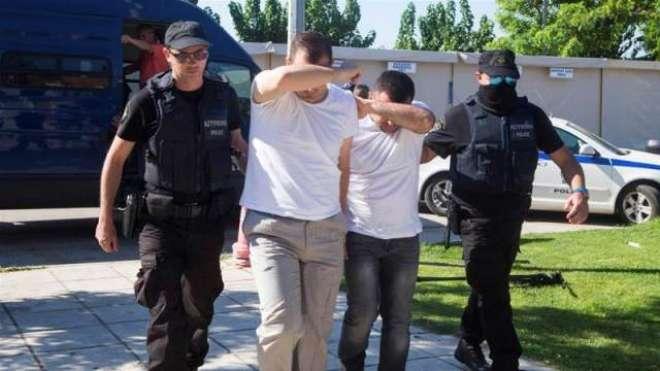 ترکی سے فرار ہو کر یونان پہنچنے والے 8 ترک فوجیوں کو رہا کر دیا گیا