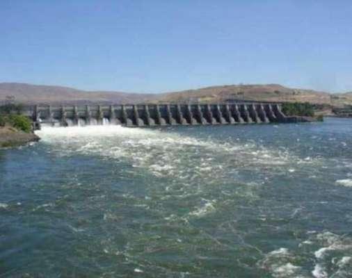 تربیلا ڈیم میں پانی ذخیرہ کرنے کی گنجائش ختم، لیول1550 فٹ پر پہنچ گیا