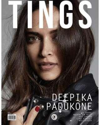 دیپیکا پڈوکون کا برطانوی جریدے ''ٹینگز'' کے سر ورق کے لئے فوٹو شوٹ