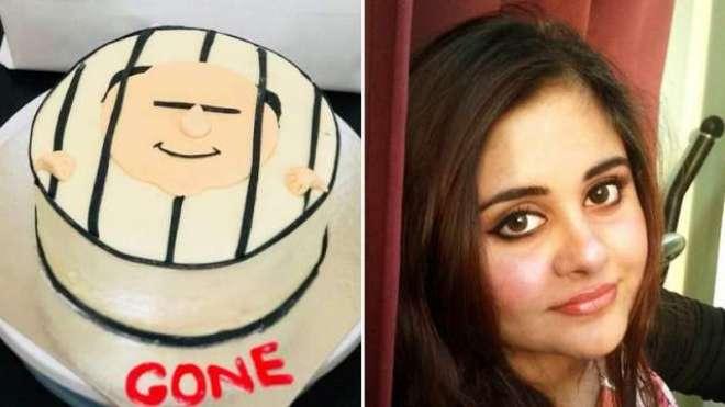 دُبئی: نواز مخالف کیک کی تصویر نے مقبولیت کی انتہا کو چھُو لیا
