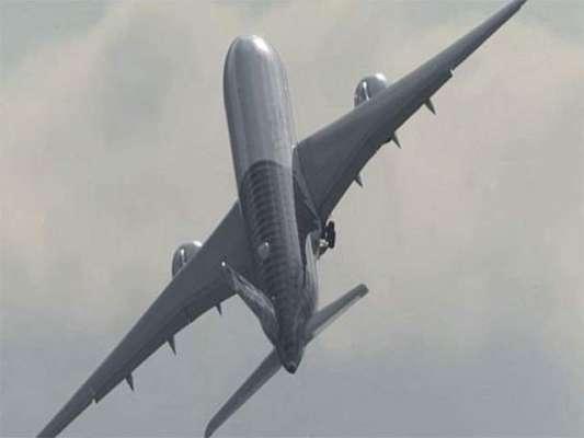 برلن ائیرشومیں مسافر طیارے کی جنگی جہاز کی طرح اڑان، منظر کو دیکھنے ..
