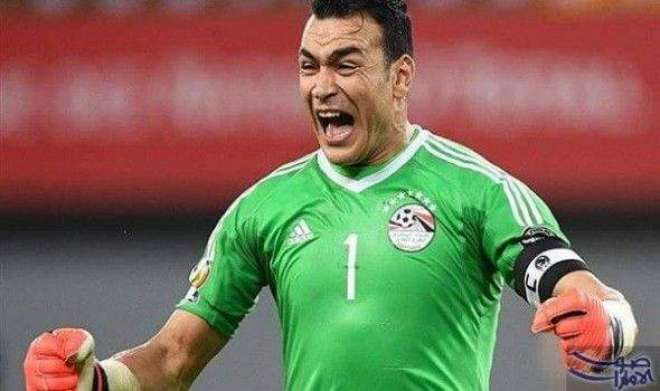 مصری گول کیپر عصام الحضری نے فٹبال ورلڈ کپ کی تاریخ میں معمر ترین فٹبالر ..