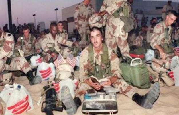 کویت میں امریکا کے 84 فوجی نورو و ائرس میں مبتلا