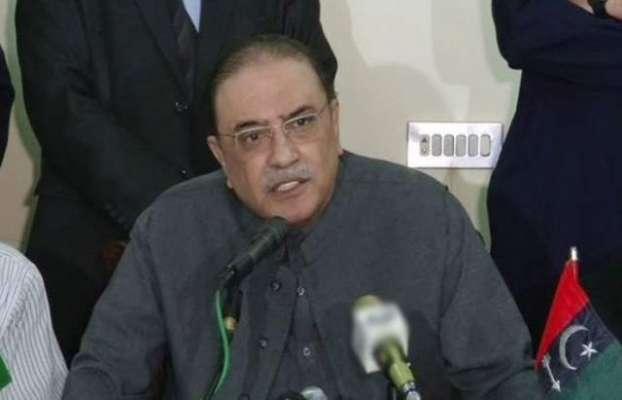 آصف زرداری نے سندھ کے شہری اور دیہی علاقوں کے نمائندہ افراد پر مشتمل ..